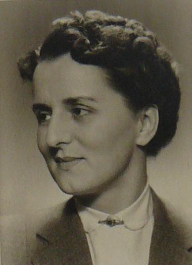 Hildegard Bartels Anfang der 50er Jahre